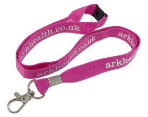 Spot Colour Lanyard